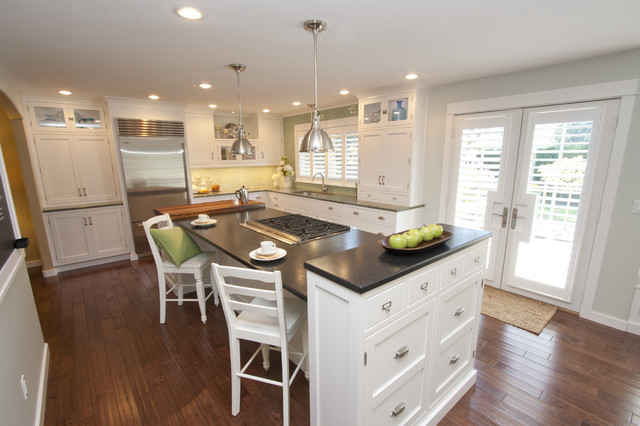 Bright and airy whole house remodel contemporary-kitchen