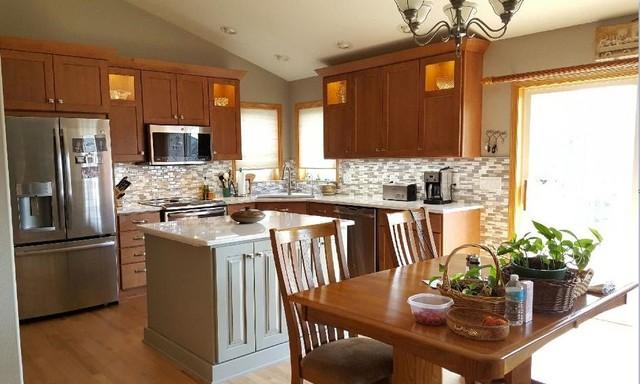 Bright And Beautiful Kitchen Transformation North Liberty Ia