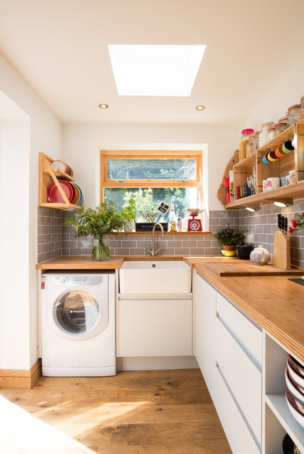 Bright And Modern Eclectic Kitchen Other By
