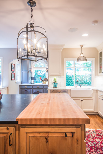 Bright Colorful Kitchen Transitional Kitchen Indianapolis By Kristin