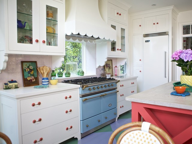 Beach Cottage Beach Style Kitchen