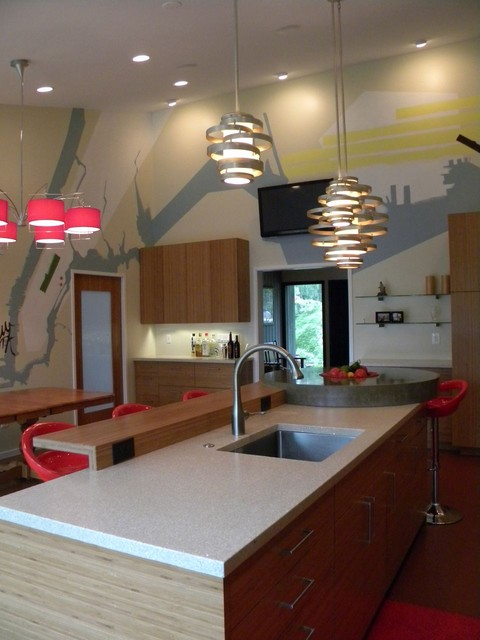 Bright Kitchen contemporary-kitchen
