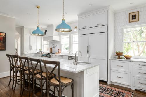 ไอเดียห้องครัว 10 Large Bright Kitchen