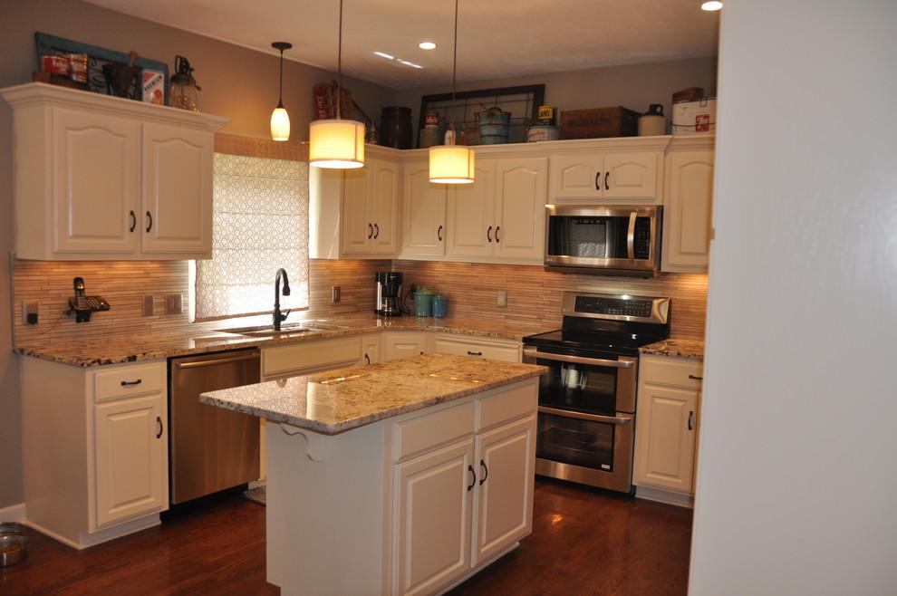 Bright Kitchen update - Contemporary - Kitchen - Omaha ...