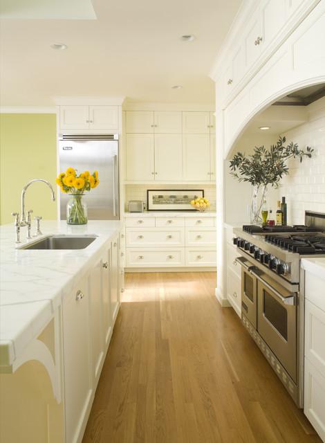 Bright, Sunny Kitchen & Dining Renovation traditional-kitchen