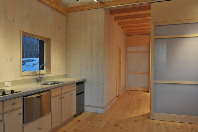 Brightbuilt Barn Contemporary Kitchen Portland Maine By Brightbuilt Home