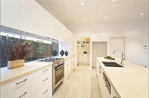 Brighton Renovation contemporary-kitchen