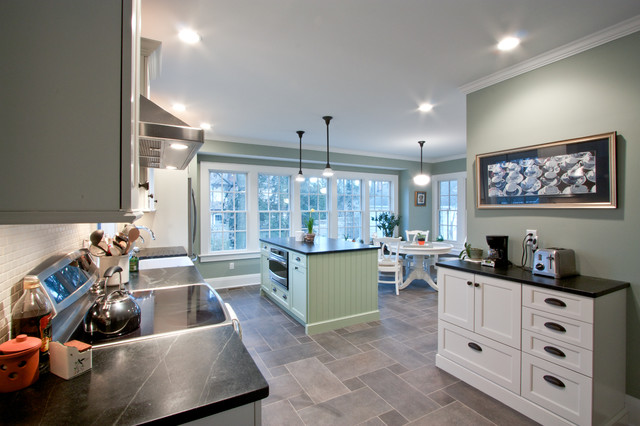 Bringing the Outdoors In contemporary-kitchen