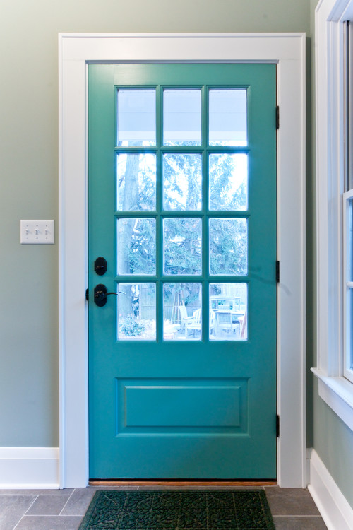 Decor to adore painted interior doors for Interior door paint ideas