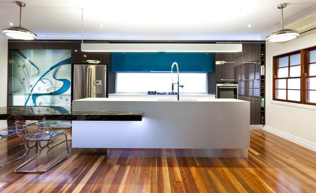 Brisbane Kitchen Project contemporary-kitchen