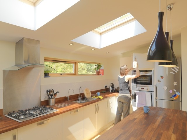 Bristol Contemporary Conversion Contemporary Kitchen Other By Aaron Davies Design