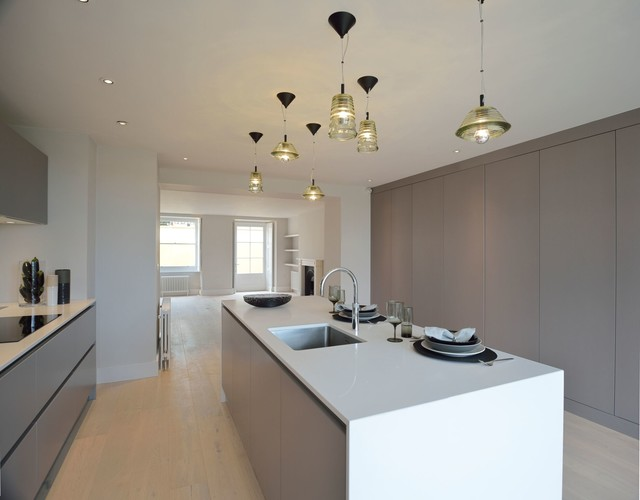 Bristol Project Contemporary Kitchen