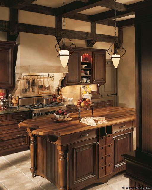 British Classics Wood Mode traditional-kitchen