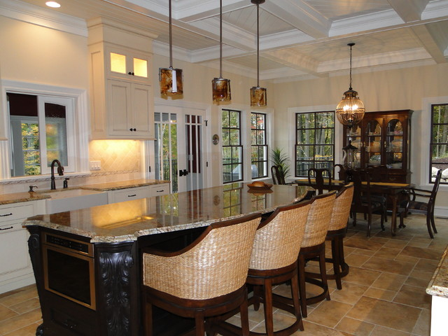 British colonial traditional kitchen grand rapids by insignia homes Kitchen design colonial home