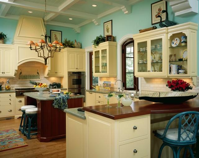 British West Indies Style Home Kitchen Design Ideas