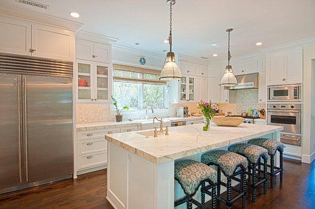 Broadway Traditional Custom traditional-kitchen