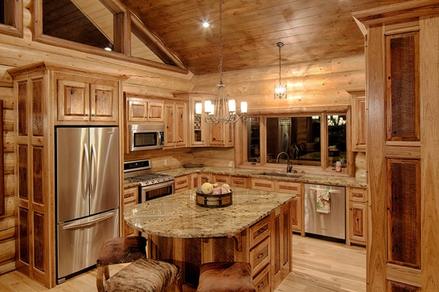 Broken Bow Ok Rustic Kitchen Dallas By