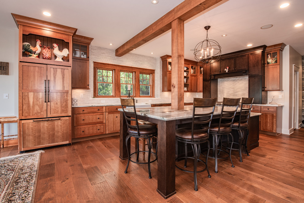 Brookfield, CT - Rustic - Kitchen - New York - by ...