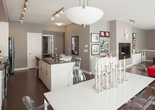 Brookfield Residential - Olive Showhome - Harvest Mosaic contemporary-kitchen