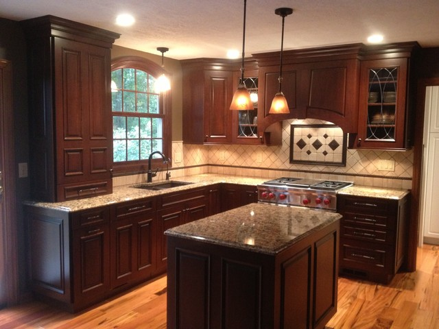 Brookhaven Cabinetry - Springfield Raised Door - Traditional - Kitchen - Other - by Buchanan ...