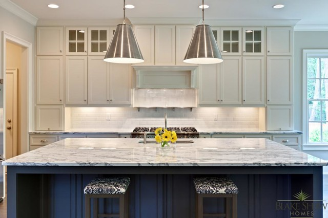 Brookhaven Custom Home - Southern Traditional - Traditional - Kitchen - atlanta - by Blake Shaw ...