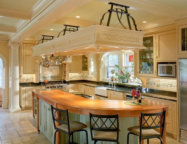 Brookline House traditional-kitchen