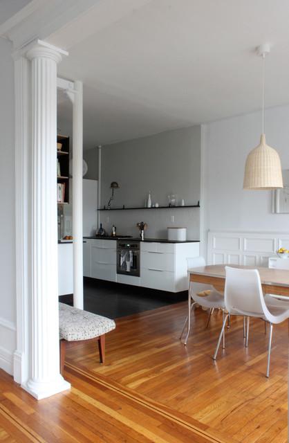 Brooklyn apartment modern kitchen new york by for Modern kitchen designs brooklyn ny