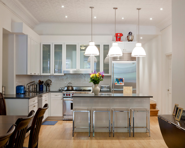 Brooklyn apartment renovation contemporary kitchen for Modern kitchen designs brooklyn ny