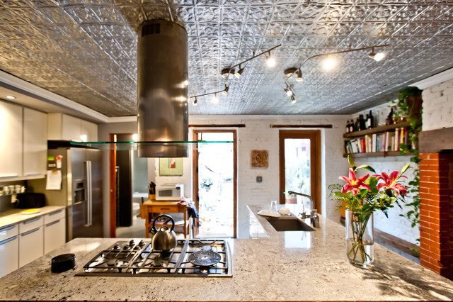 Brooklyn Brownstone Design And Renovation Contemporary Kitchen New York By Peter Hassler