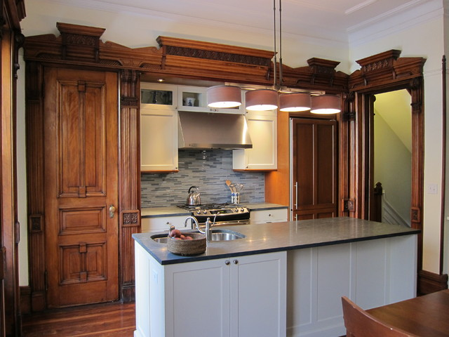 Brooklyn Brownstone Kitchen Dining Room Victorian