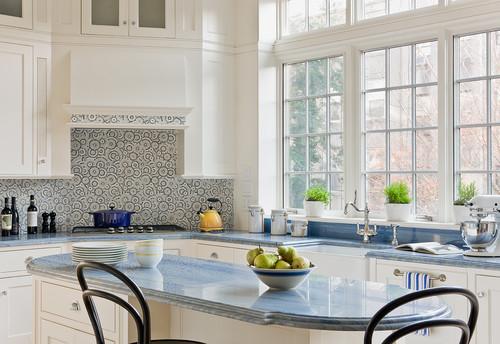 Traditional Kitchen design by New York Architect Ben Herzog