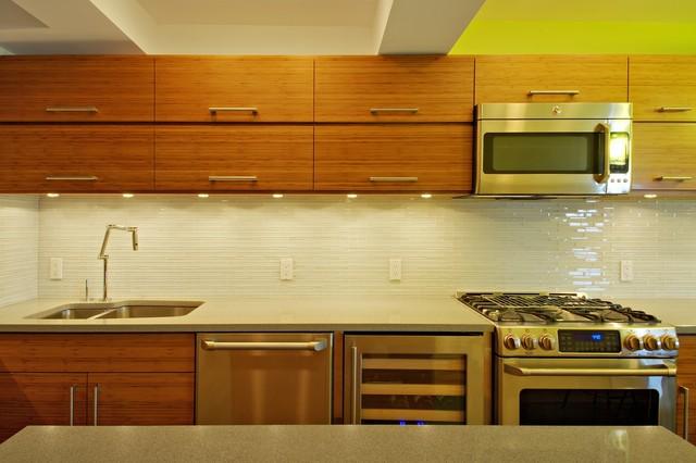 Brooklyn Heights Apartment modern-kitchen