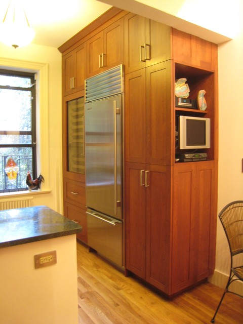 Brooklyn Heights traditional-kitchen