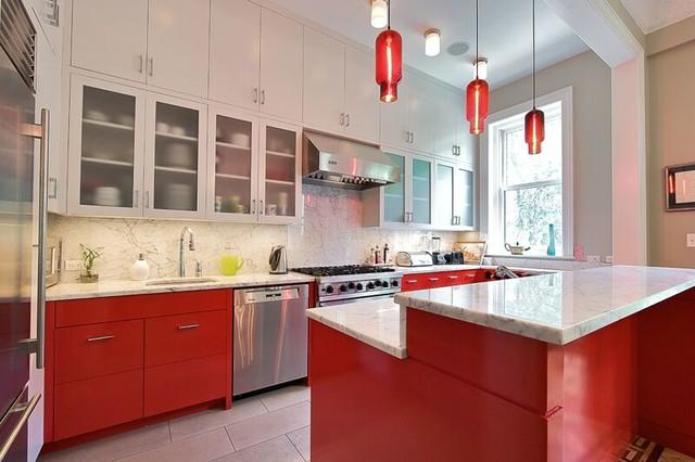 Brooklyn kitchen design eclectic kitchen new york by new york custom interior millwork corp - Kitchen design brooklyn ...