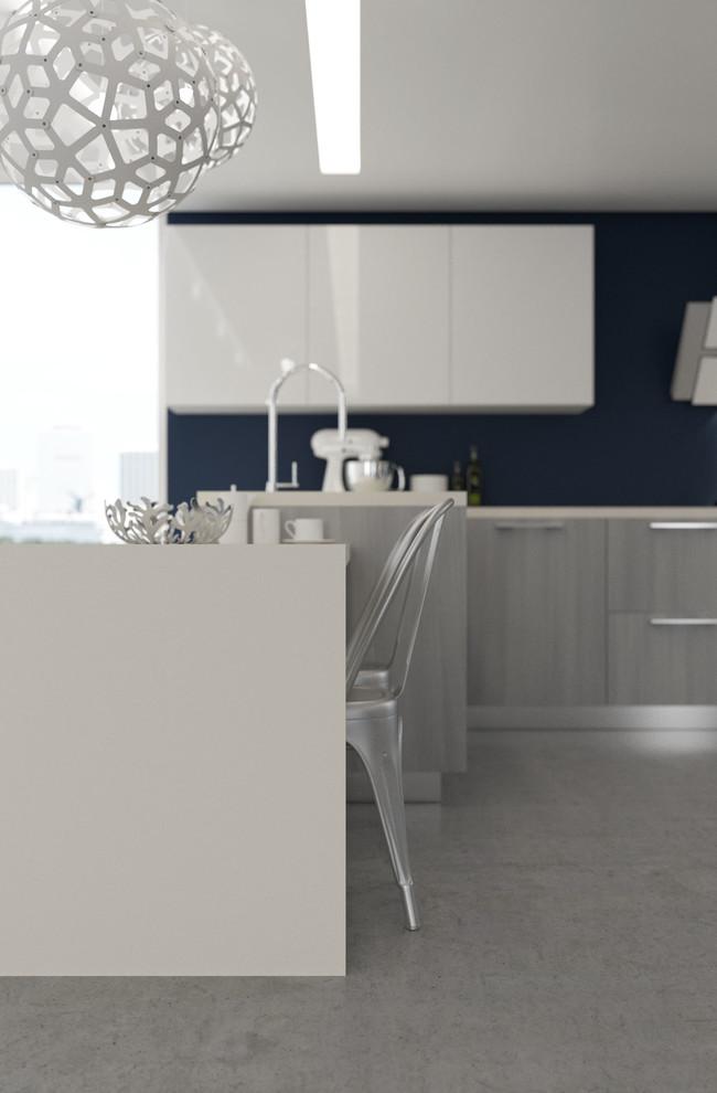 Brooklyn Line - Kitchen Cabinets - Modern - Kitchen ...