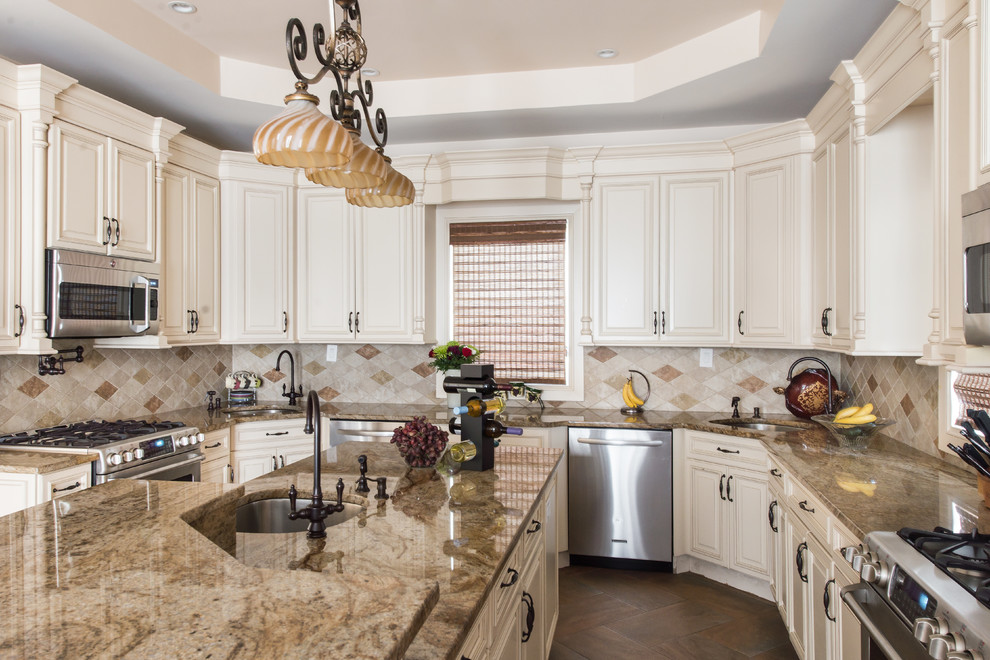 Brooklyn, NY - Traditional - Kitchen - New York - by Tri ...
