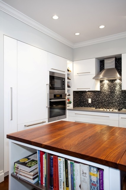 Brooklyn residence on st john 39 s place for Modern kitchen designs brooklyn ny