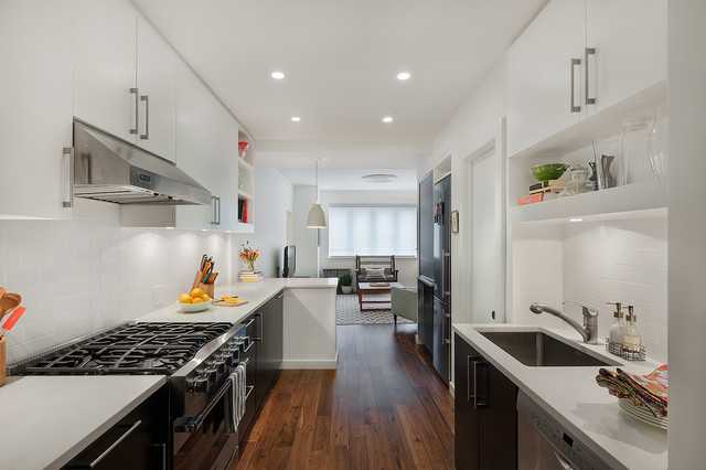 Brooklyn Townhouse Contemporary Kitchen New York