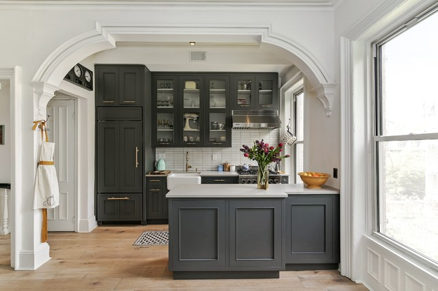 Brooklyn Townhouse Renovation - Traditional - Kitchen - Philadelphia ...