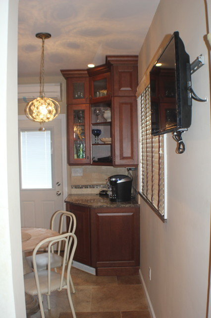 Total Kitchen Outfitters Traditional Kitchen And Powder Room Traditional
