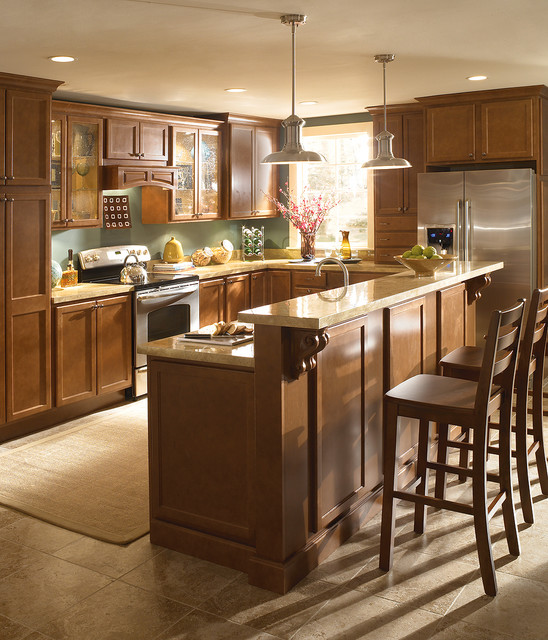Brookside Kitchen traditional-kitchen