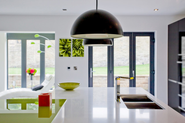 Broomfield Avenue Halifax Modern Kitchen Yorkshire And The Humber By Conroy Brook Group