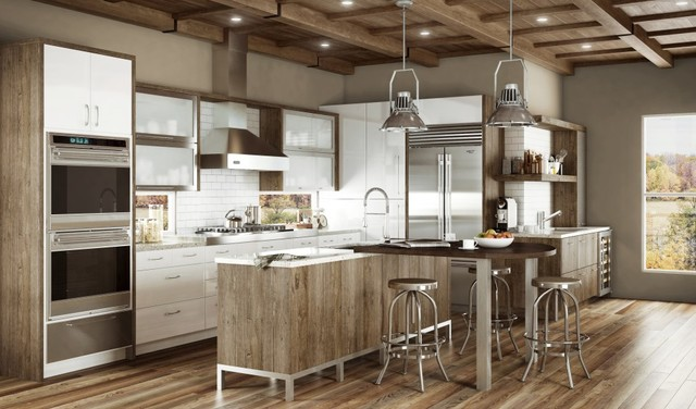 bellmont 1900 spaces contemporary kitchen houston