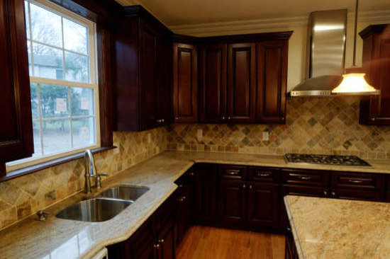 Brown Kitchen Cabinets | Pacifica Door Style | Kitchen Cabinet ...