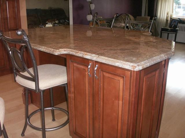 Brown Kitchen Cabinets Sienna Rope