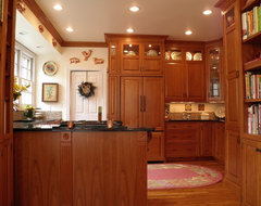 Brown/Nilon Kitchen 1 traditional-kitchen