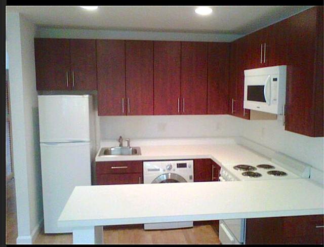 Brown University Condo traditional-kitchen
