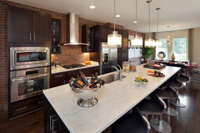 Brownstone Collection Montague Contemporary Kitchen Dc Metro By Carlyn And Company