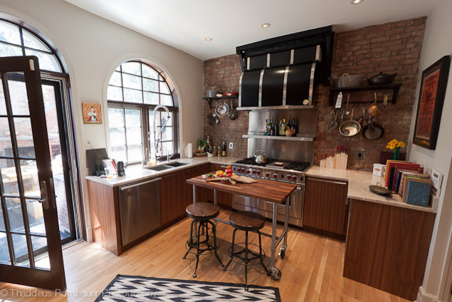 Brownstone Design Renovations Eclectic Kitchen New