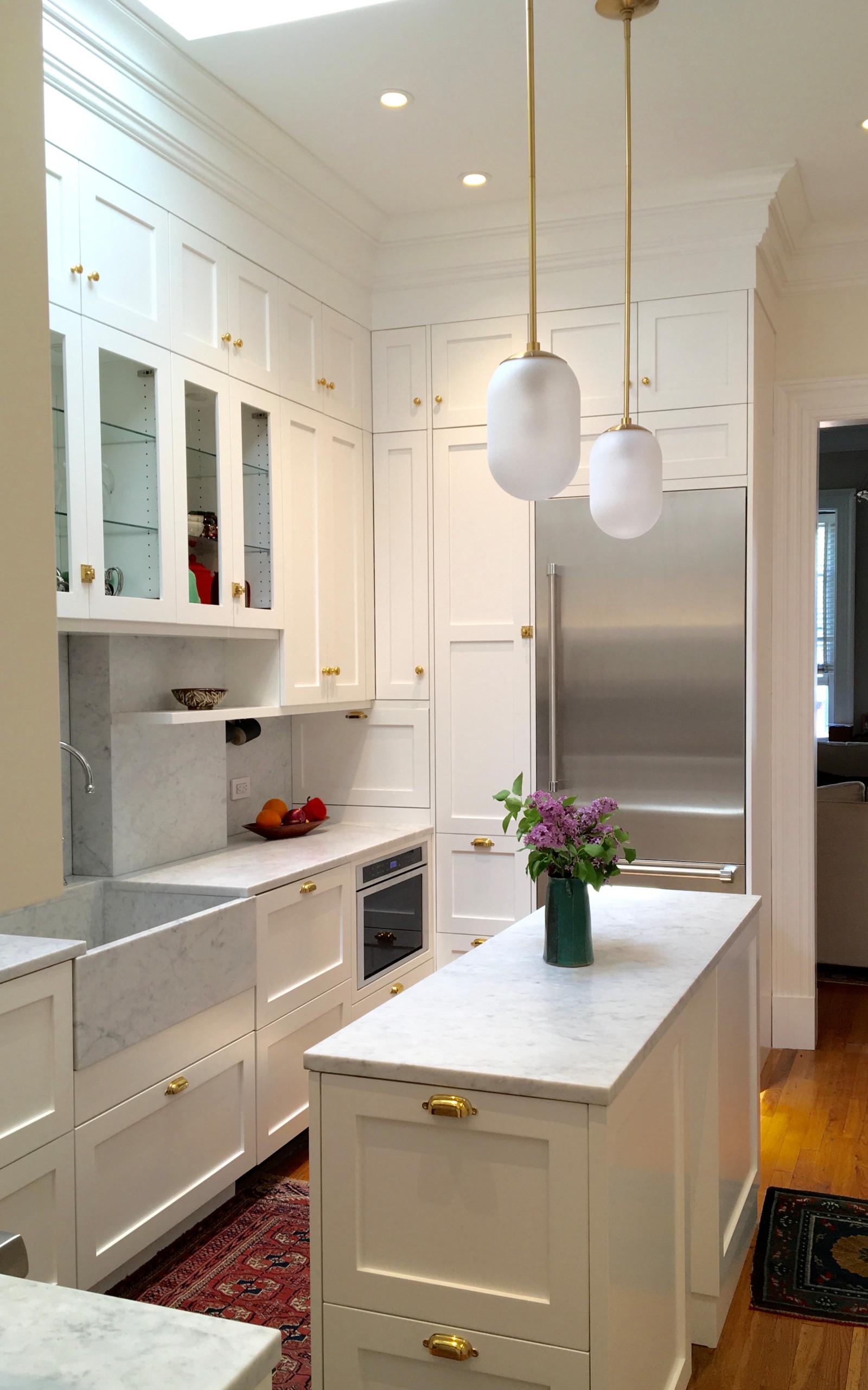 Brownstone Duplex Kitchen